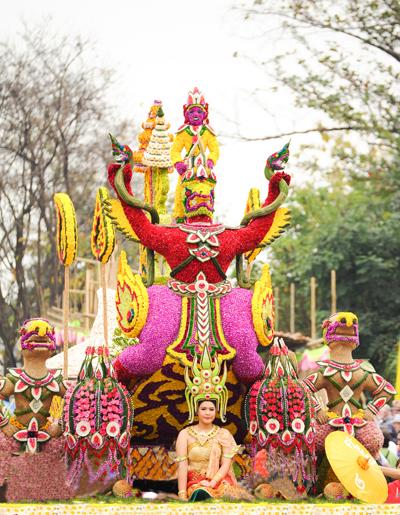 Lễ hội hoa Chiang Mai ở Thái Lan