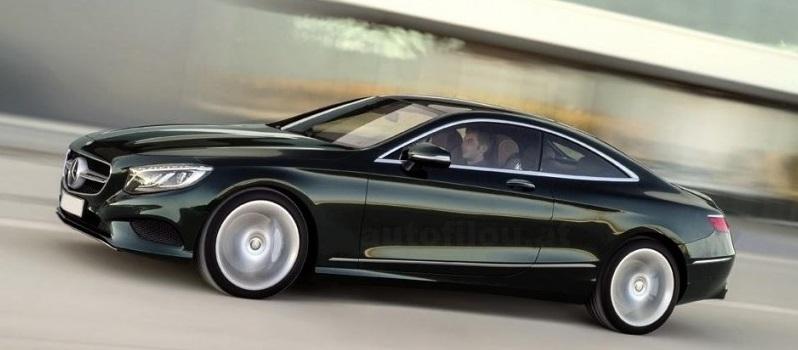 Hãng xe ô tô Mercedes-Benz tung ảnh S-Class Coupe 2015