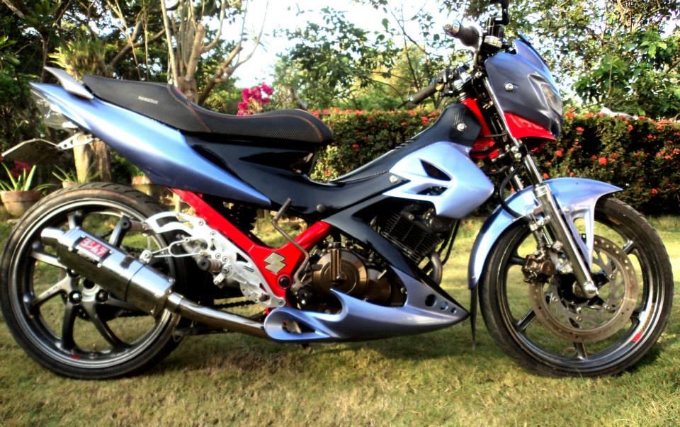 Suzuki Raider R150 mang phong cách mạnh mẽ