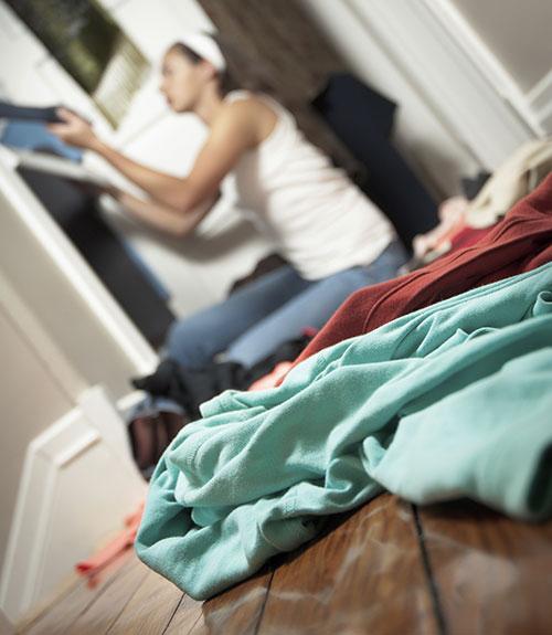 3 bước dọn lại tủ đồ cho nàng bận rộn