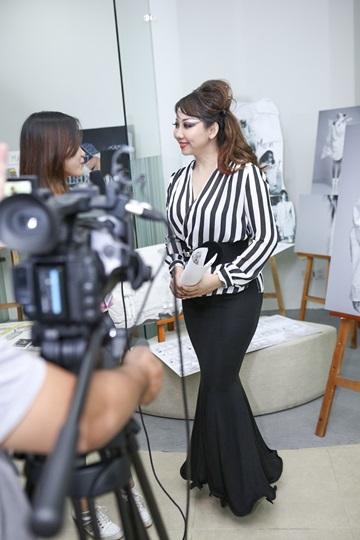 Quỳnh Paris hy vọng sinh viên thời trang không đạo thiết kế