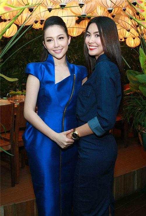 Cảm hứng xanh cô ban từ các sao Việt