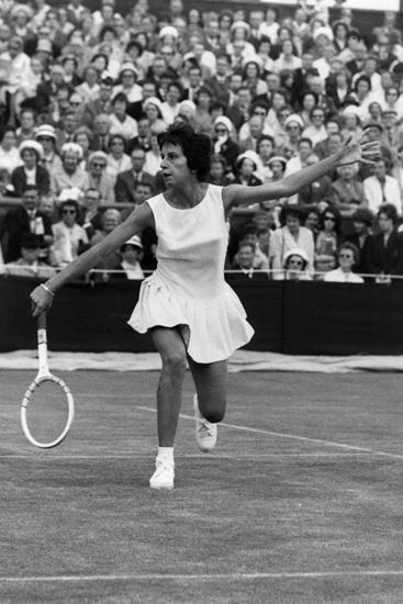 Sự biến đổi của trang phục chơi tennis