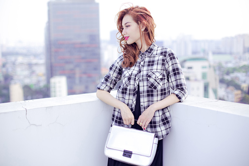 Phong cách thời trang 'thời thượng' của Quỳnh Chi