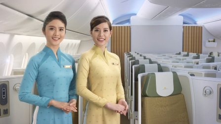 Áo dài mới của Vietnam Airlines có đẹp như hình?