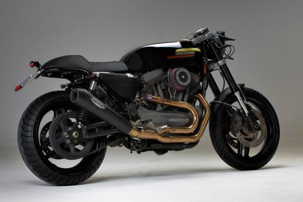 Harley-Davidson XR1200 lầm lý và cứng cáp với phiên bản độ Cafe Racer