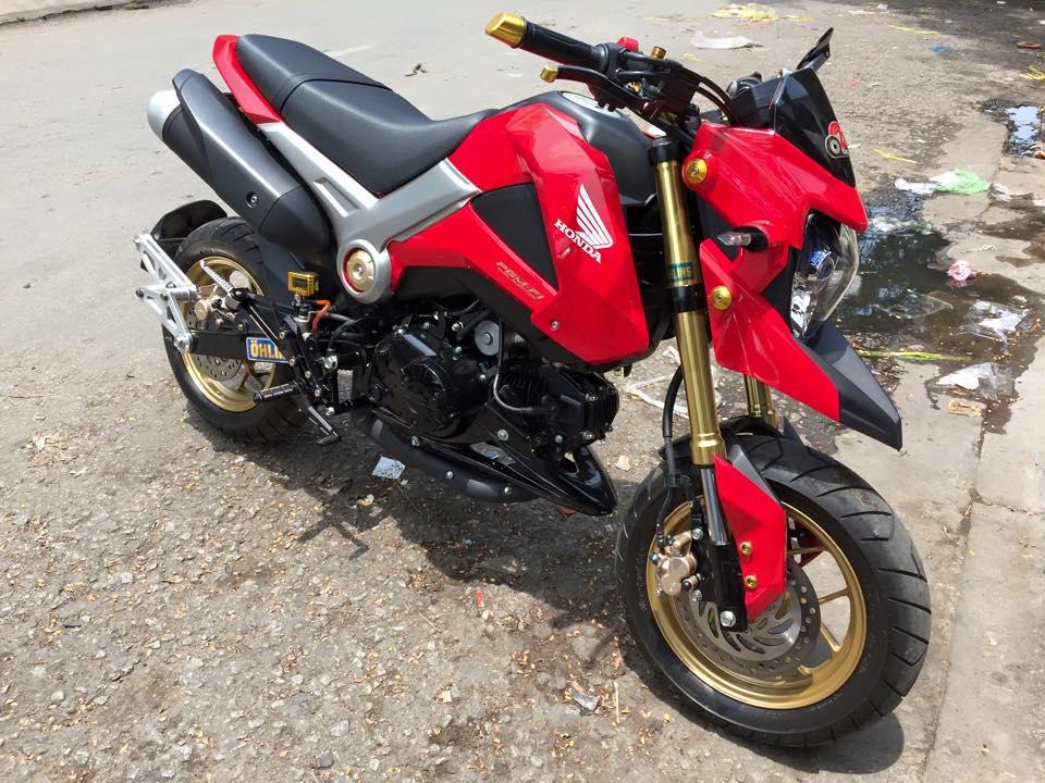 MSX độ kiểng mang phong cách Ducati Hyperstrada