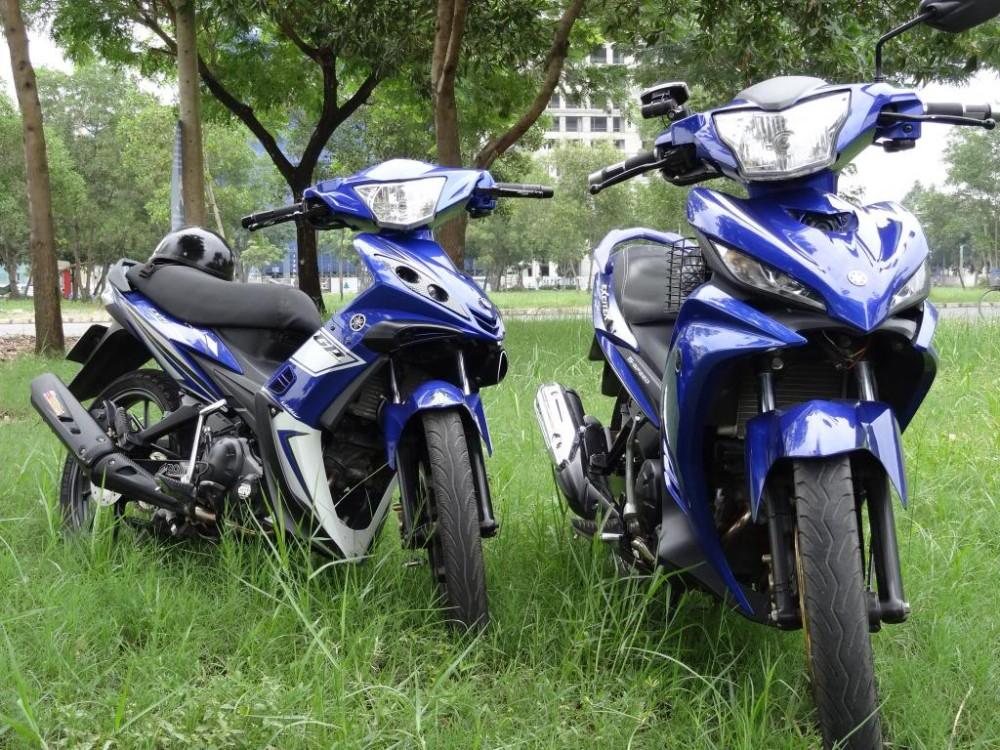 Bộ đôi Exciter xanh GP đẹp lung linh