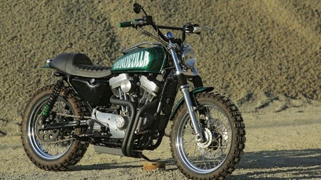 Harley-Davidson Sportster độ Scrambler phong cách của Nữ nhà báo
