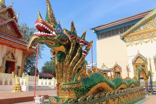Hình ảnh ngôi chùa có tượng Phật nằm lớn thứ ba thế giới