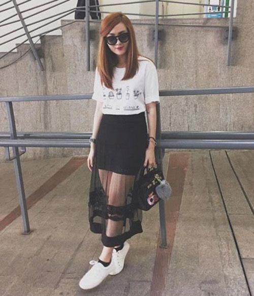 Không ngại bẩn, sao Việt vẫn thích giày trắng