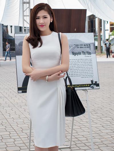 Ngắm hoa hậu, Á hậu Việt đọ sắc trắng ở sự kiện