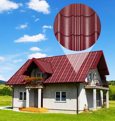 Chọn mái tôn phù hợp với ngôi nhà