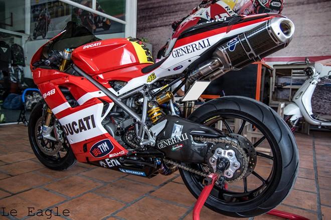 """Ducati 848 EVO độ đầy """"sang chảnh"""" tại Sài Thành"""