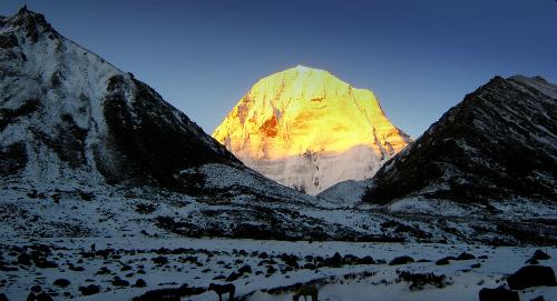 Đường hành hương từ Ấn Độ đến núi thiêng Tây Tạng