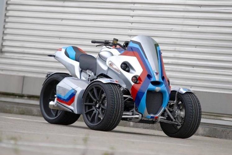BMW K1300S độ độc đáo thành khủng long 3 bánh GG Taurus