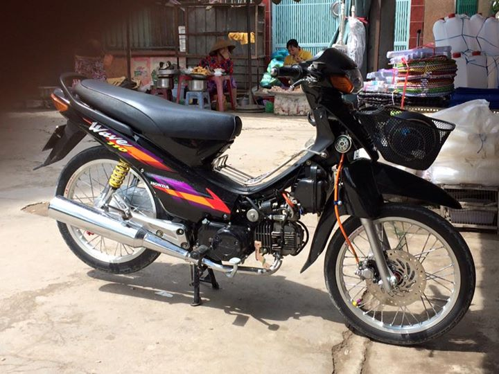 Honda Wave Alpha 100cc trở lại theo thời gian