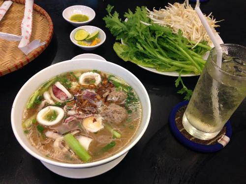 Hủ tiếu mực - khẩu vị mới cho người Sài Gòn