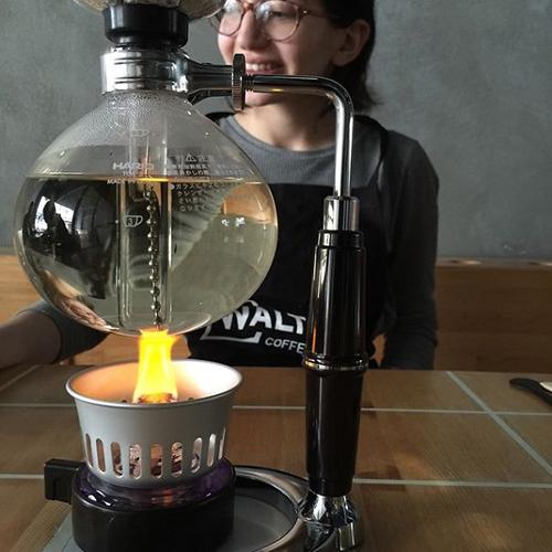 Ở Istanbul xuất hiện quán cà phê phong cách phòng thí nghiệm