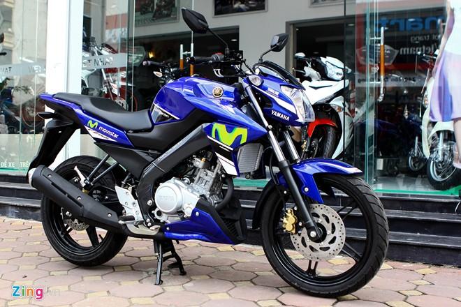 Cận cảnh Yamaha Fz150i Movistar tại Việt Nam