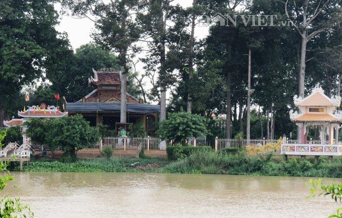 Chùa Cổ Sơn - ngôi Chùa Nổi bên dòng sông Vàm Cỏ Tây