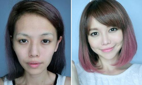 """Hot girl Singapore gây sốc với 9 lần """"dao kéo"""""""