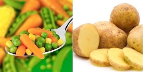 Những loại rau quả bạn nên tránh xa để giữ eo