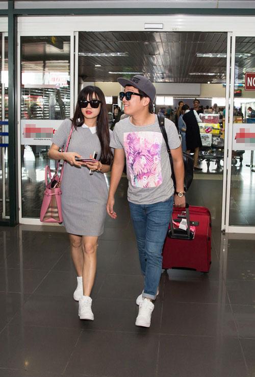 Sao Việt dính tin đồn hẹn hò vì mặc đồ đôi