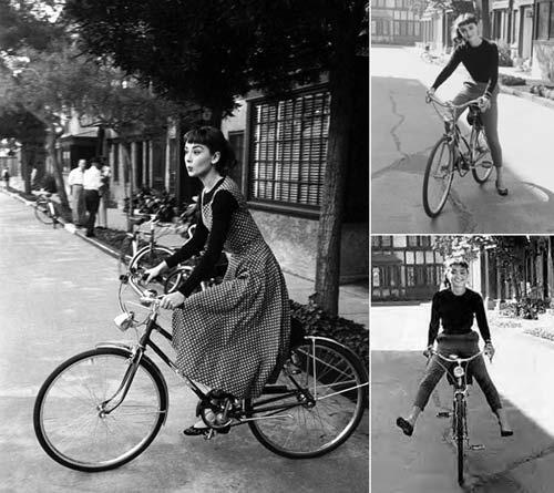Xe đạp: Món phụ kiện 'tuyệt đỉnh' của tín đồ thời trang