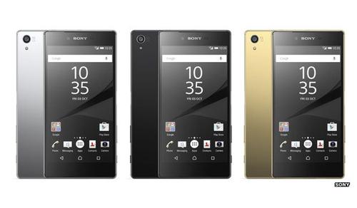 Z5 và Z5 Compact với camera 23 'chấm' của Sony