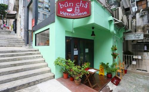 Bún chả Việt Nam ở Hong Kong
