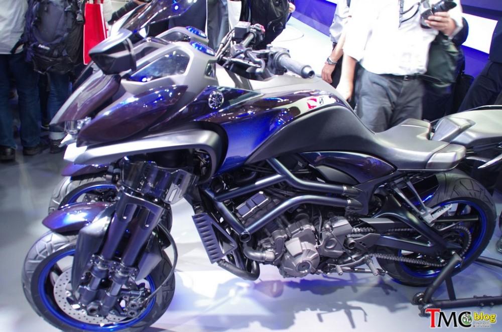 Chi tiết Yamaha MWT-09 tại Tokyo Motor Show