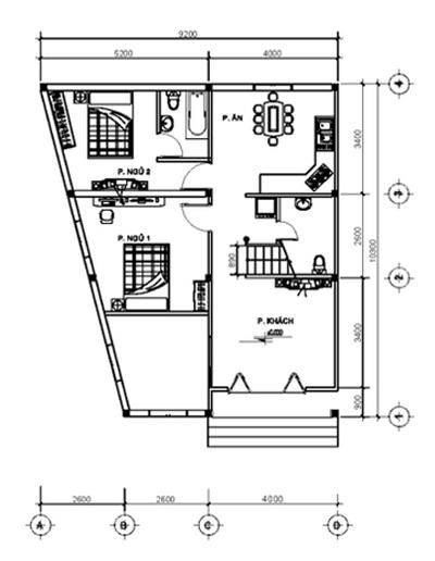 Hai gợi ý thiết kế tăng ánh sáng cho nhà hình thang