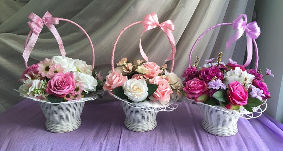 Hoa lụa đẹp, giá rẻ chiều lòng chị em ngày phụ nữ