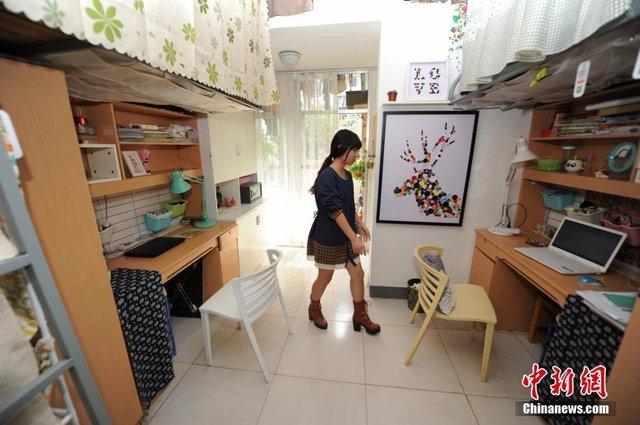 Ngắm căn hộ ấm áp của nữ sinh tự biến từ phòng kí túc 20m2