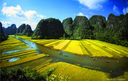 Thắng cảnh Việt Nam sẽ xuất hiện trên giờ vàng truyền hình Anh