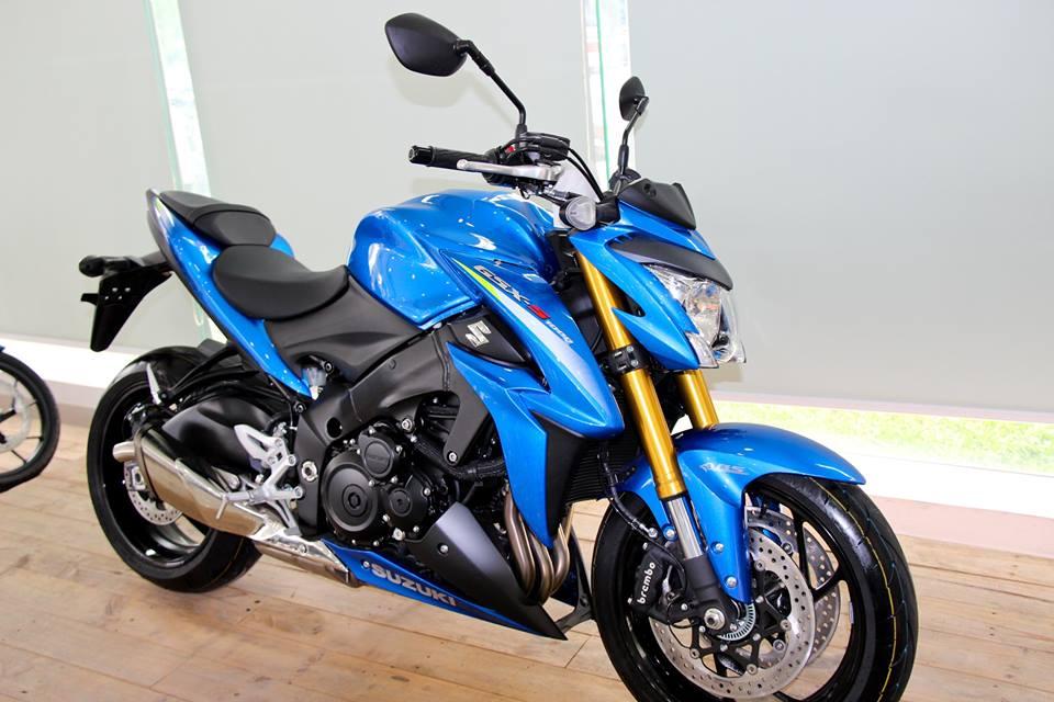 Cận cảnh Suzuki GSX-S1000