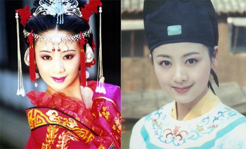 Những người đẹp cổ trang Hoa ngữ chạy theo mode cằm V-line