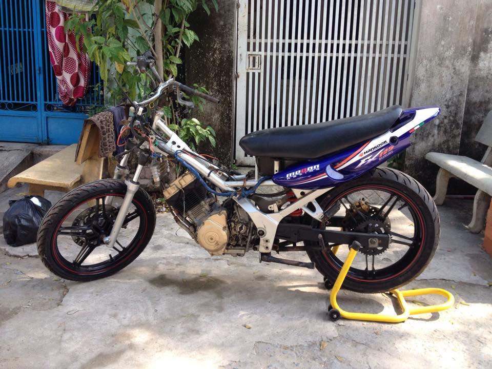 Suzuki Fx độ mâm Exciter 150cc