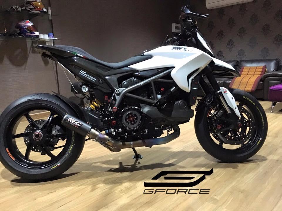 Ducati Hypermotard 821 phiên bản cực chất từ GForce