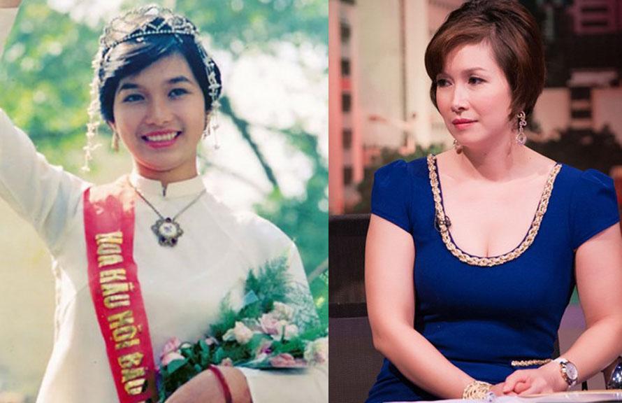 Ngắm nhan sắc 14 hoa hậu Việt Nam khi đăng quang và hiện tại