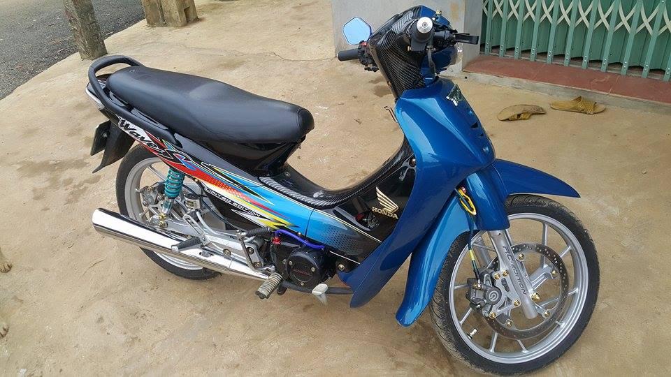 Wave S100 tâm huyết của biker đam mê