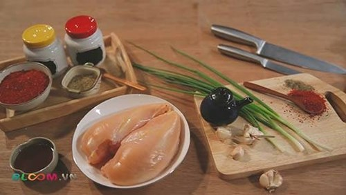 Làm gà phô mai Hàn Quốc đang gây sốt giới trẻ