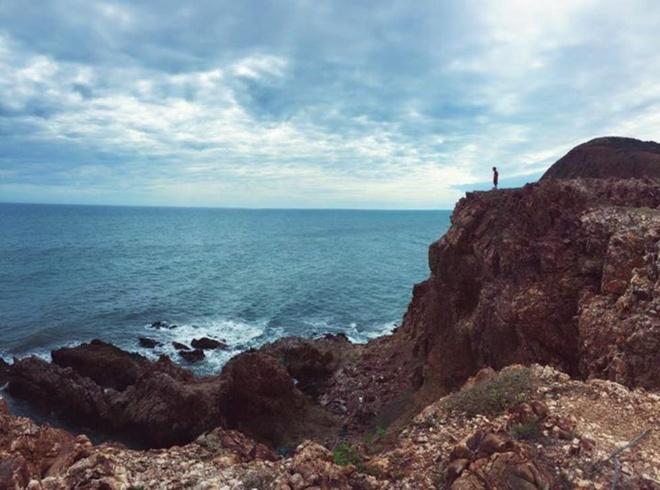 Ngắm cung đường ven biển Mũi Dinh - Bãi Tràng