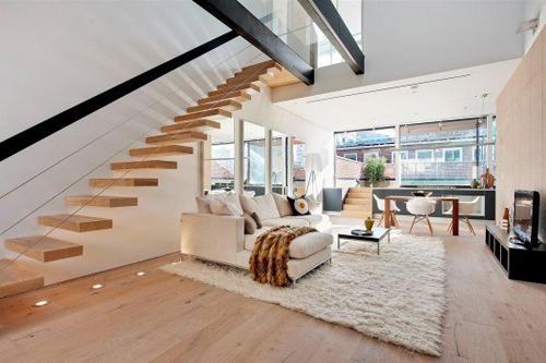 Những mẫu cầu thang tinh tế, hiện đại và cực chất