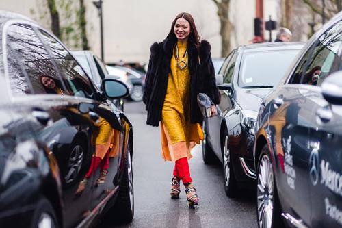 Thời trang ấn tượng của những quý cô Việt tại Paris