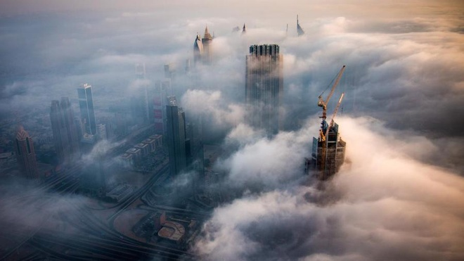 Ngắm 'tiên cảnh' huyền ảo ở Dubai