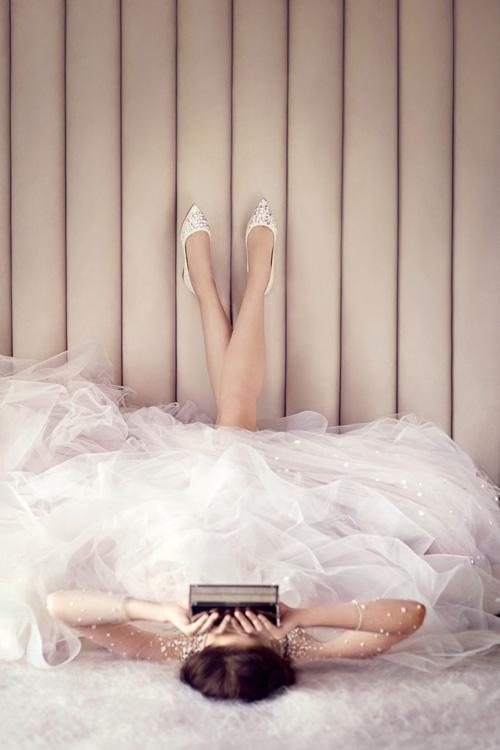 Những mẫu giày mọi cô dâu đều mơ ước trong ngày cưới