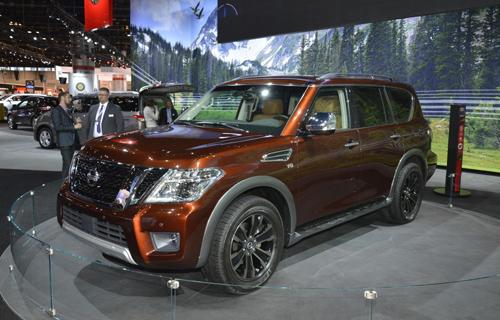 Nissan Armada 2017 - đối thủ Toyota Sequoia ra mắt