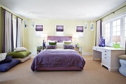 Thể hiện tính cách của bạn qua màu sắc phòng ngủ